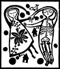 skeleton lovers (* Little Circus Design *) Tags: tattoo illustration skulls skeleton pattern decorative australiana floralpattern brushandink thedayofthedead birdimages brushink melbourneart australianart contemporaryillustration blackandwhiteimages thejackywintergroup monochromaticcolour littlecircusdesign madeleinestamer littlebirdsville limitededitiongicleeprints australianillustration contemporaryfolkstyle