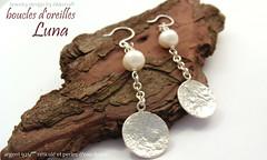 Luna earrings (Akkena) Tags: silver jewelry bijoux pearls earrings texturing bouclesdoreilles perles contemporains contemporaryjewelry akkena sandraovono akkenarchitexture