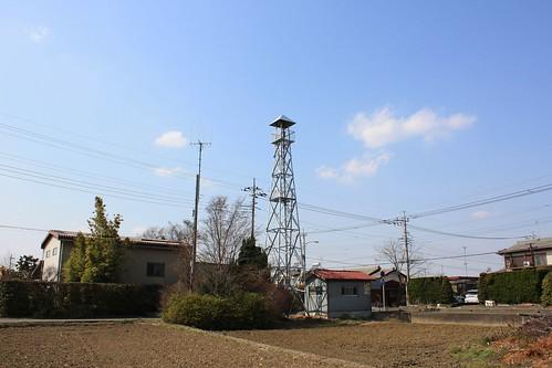 渋井の火の見櫓