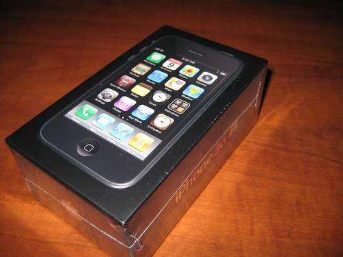 Unboxing iPhone 3GS