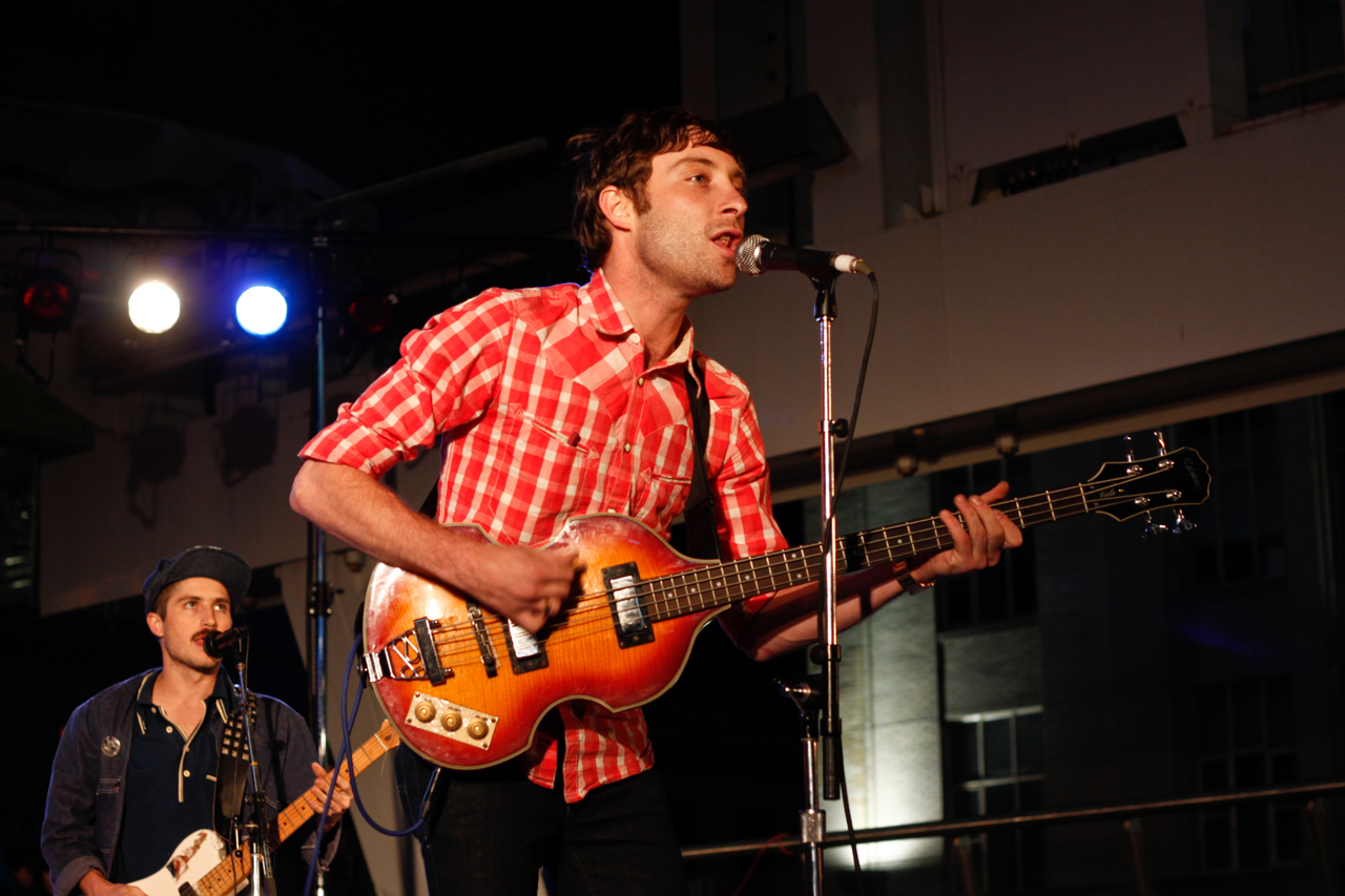 The Black Lips—June 18, 2009 @ Yonge Dundas Square