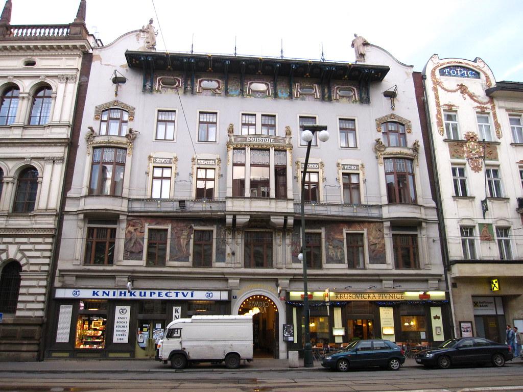 Praha Assurance building, by Osvald Polívka