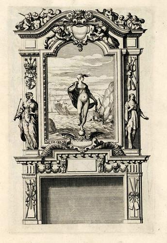 004-Livre d'architecture d'autels, et de cheminees- Barbet Jean-1633- © Institut national d'histoire de l'art