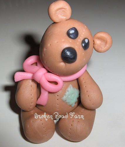 Gumpaste Toy Bear