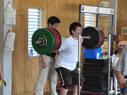 スクワット220kg