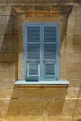 Malta - Gozo - Nadur - Blue window v2 (Darrell Godliman) Tags: travel vacation copyright holiday detail building travelling tourism window stone architecture buildings arquitectura nikon europe mediterranean timber painted stonework eu grand malta shutter architektur d200 med architettura europeanunion allrightsreserved architectuur gozo mimari architecturalphotography travelphotography nikond200 instantfave nadur 5photosaday omot  travelphotographer flickrelite dgphotos darrellgodliman wwwdgphotoscouk architecturalphotographer flcikrelite dgodliman maltaandgozo dwwg maltagozonadurbluewindowv2 2009dgodliman