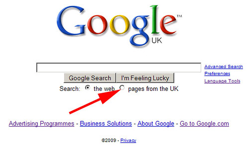 Google UK Pages From