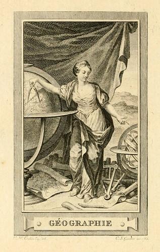 018- Geografia-Iconologie par figures-Gravelot 1791