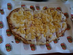Jelly Belly bean shaped pizza!!!