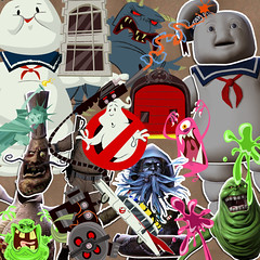 LBP Ghostbusters Stickers