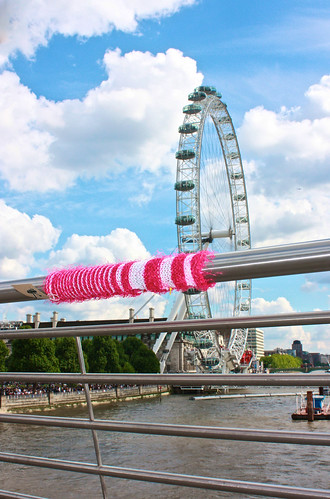 The London Eye will look out for you...