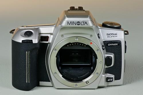 minolta dynax 505si super camera wiki org the free camera rh camera wiki org