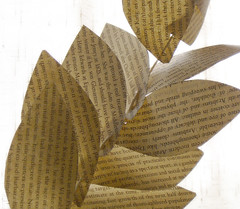 leaf garland 2 (BSmaurer) Tags: party leaves paper leaf recycled decoration garland jessicawolf paperacorn