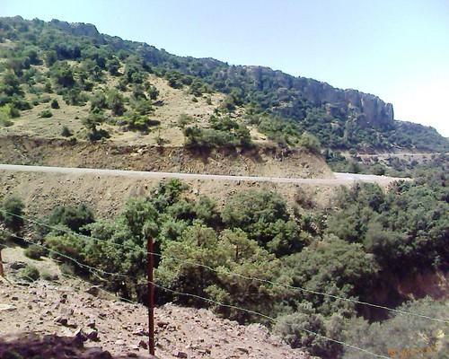 Route Almou Beni Znassen طريق ألمو جبال بني يزناسن
