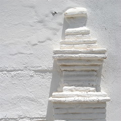 White On White (Adam Regester) Tags: shadow white brick home wall architecture exterior pillar entrance