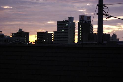 明け始めの空