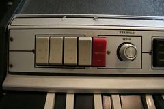 effect selectors (aaronthered) Tags: teisco comboorgan nomaddual analogorgan vintagemusicequipment