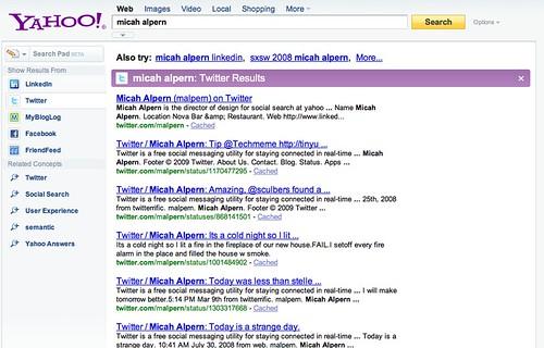 Yahoo People finding