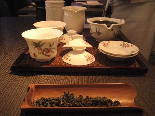 yauatcha tea gong fu cha