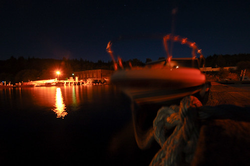 DSC_4733 Fishing boat at night