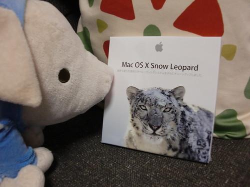 Snow Leopard 買った