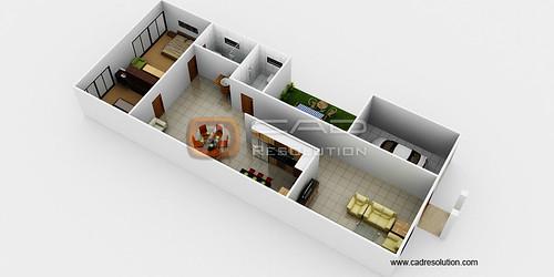 Floor Plan Builder - 3D Floor Plan Render