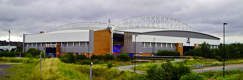 The DW Stadium, 4th August 2009