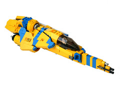 Sunblade 01 (Brainbikerider) Tags: classic lego space spacecraft moc starfighter foitsop