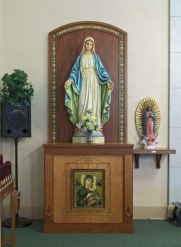 Our Lady Help of Christians Roman Catholic Church, in Weingarten, Missouri, USA - Blessed Virgin Mary