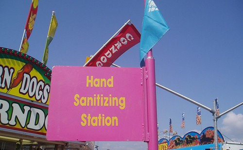 Hand Sanitizing Station