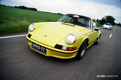Porsche 911 Carrera RS 2.7 (marknauta.nl) Tags: white yellow nikon mark 911 nederland porsche 27 friesland carrera d300 ducktail nauta carrerars rs27 marknautanl marknauta 58hd92