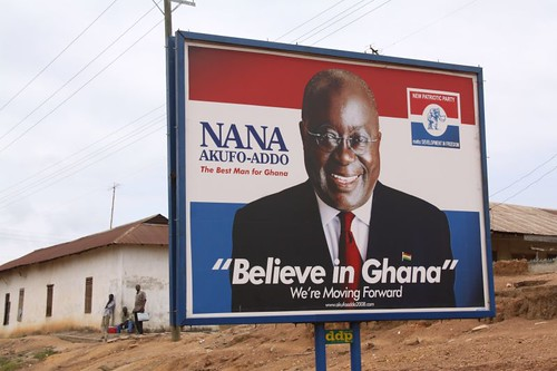Believe in Ghana, yes!