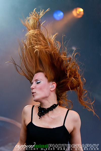 Simone Simons - Epica - Summer Breeze Open Air 2009
