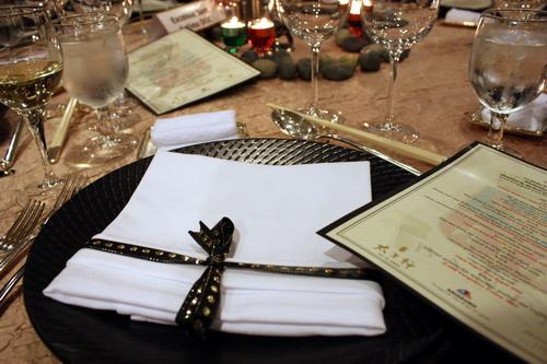 La Dolce VIta with Castello Banfi Table Setting 1