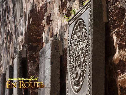 Malacca St Pauls Church Tombstones