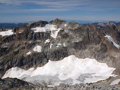 Columbia Peak and Glacier from Kyes