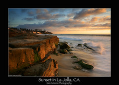 Sunset in La Jolla, California (Sam Antonio Photography) Tags: ocean california longexposure travel light sunset sea vacation sky cliff usa cloud seascape beach water weather clouds america landscape sand waves unitedstates sandiego wind dusk surfer lajolla pacificocean filter canon5d southerncalifornia polarizer pacificcoast americasfinest paragon birdrock lajollacalifornia lajollabeach canonphotography 5photosaday lajollasunset gradfilter beachphotography ustravel abigfave platinumphoto sandiegophotography platinumsuperstar bestofmywinners samantonio samantoniophotographycom gettyimagessandiego sandiegobeachstockphotography