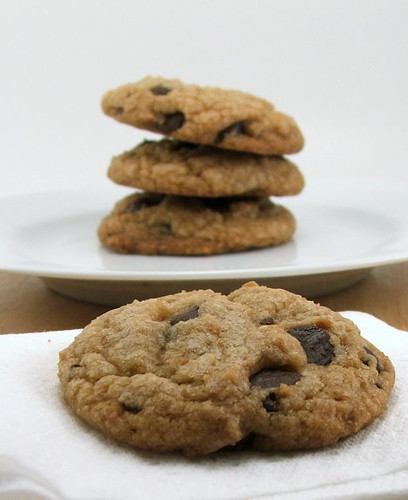 Chocolate Chip Coconut Brown Butter Cookies