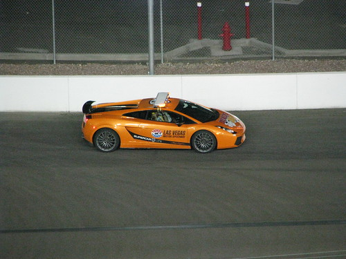 The announcer said this was the most expensive car to ever be a pace car at a NASCAR race.