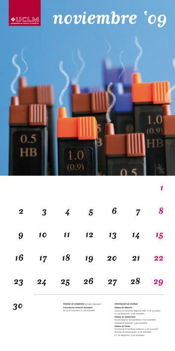 Calendario académico 2009/2010