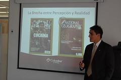 Alejandro Navas, explica estrategia Colombia