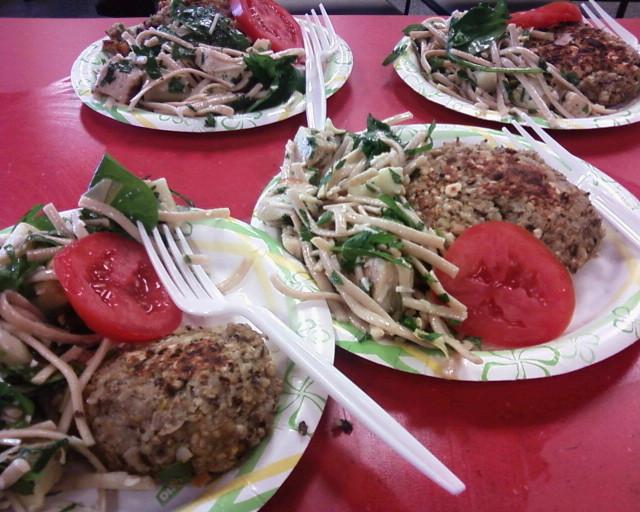 Bep & burgers chix artch spin pasta