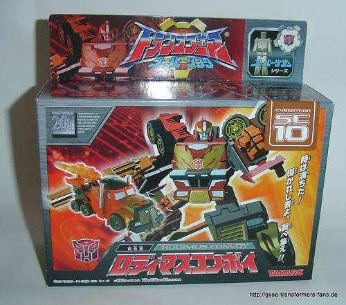 Rodimus Convoy  Superlink Combat-Class  Transformers 001
