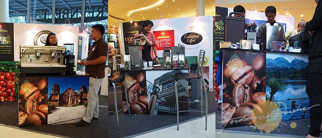 My Photos at Coffee Origins Booth (Miag-ao, Silay and Lake Sebu)