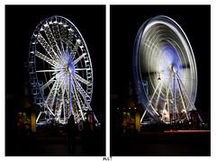 big carousel  / noria. (mario_denmark) Tags: wheel canon eos big 1750 28 tamron 450 larga noria esposicion