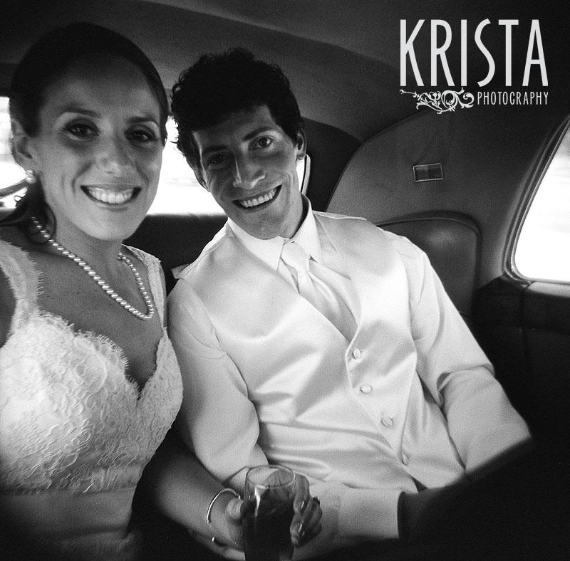 Boston Wedding - Black & White FILM