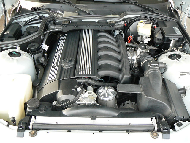 1999 M Coupe | Arctic Silver | Gray/Black | S52 S52B32 Engine Bay