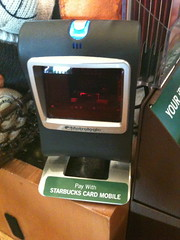 Starbucks Mobile Card scanner