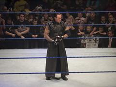 Undertaker prepares...