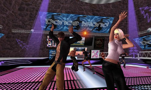 xavier, raftwet at dance island second life